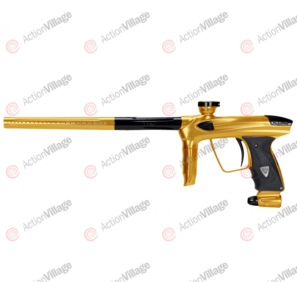 DLX Luxe 2.0 Paintball Gun - Gold/Black