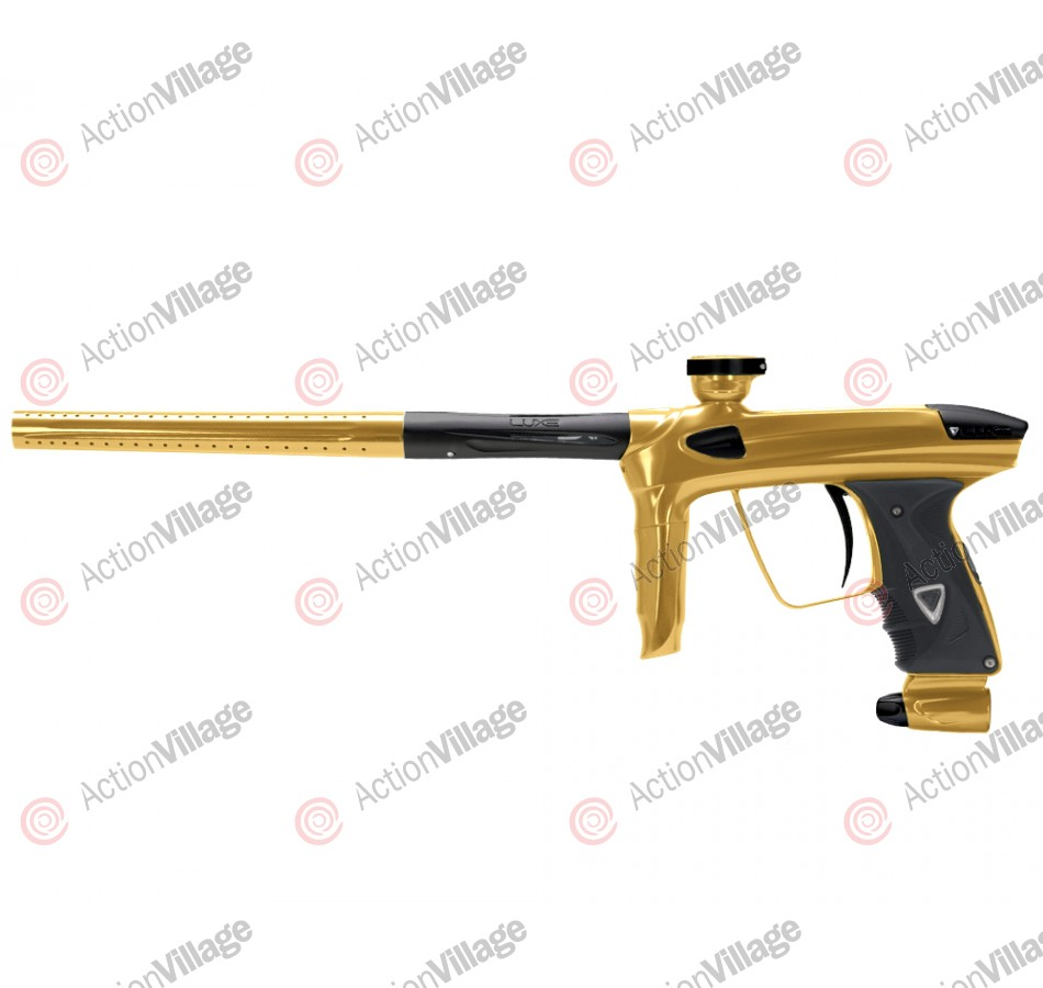 DLX Luxe 2.0 Paintball Gun - Gold/Dust Black
