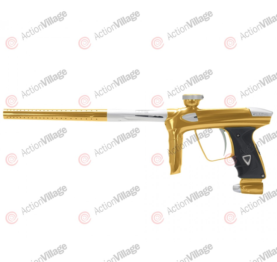 DLX Luxe 2.0 Paintball Gun - Gold/Dust White