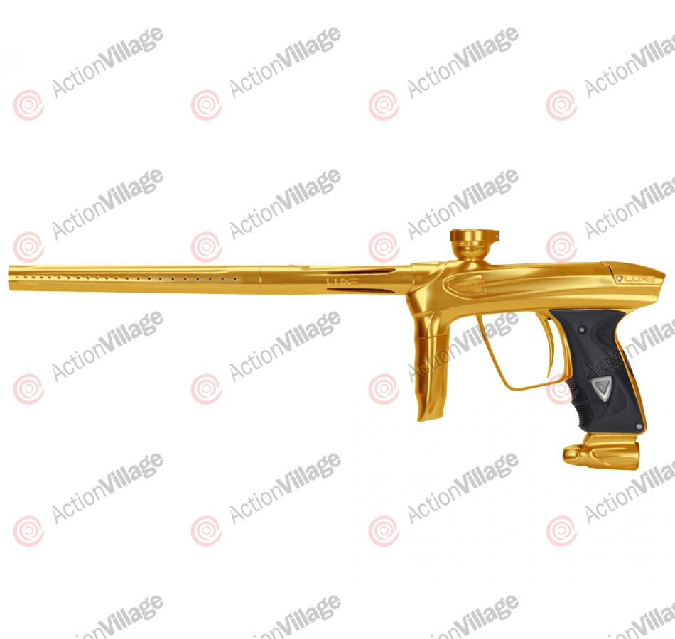 DLX Luxe 2.0 Paintball Gun - Gold/Gold