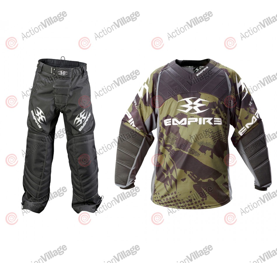 Empire 2012 Prevail TW Paintball Jersey & Pant Combo - Olive