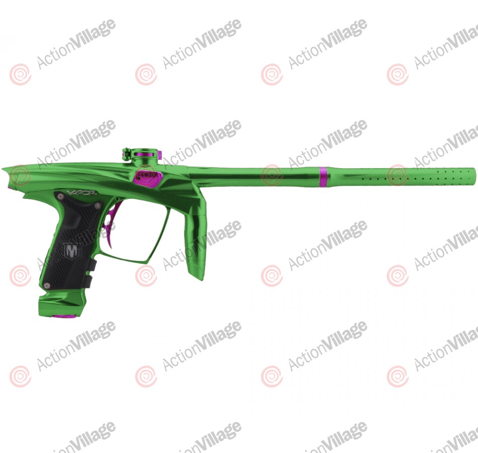 Machine Vapor Paintball Gun - Green w/ Purple Accents