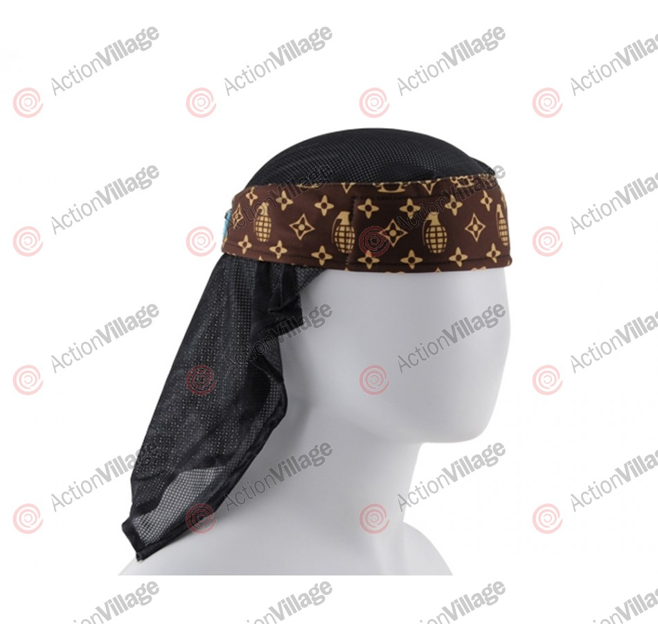 HK Army Headwrap - Grenade Brown