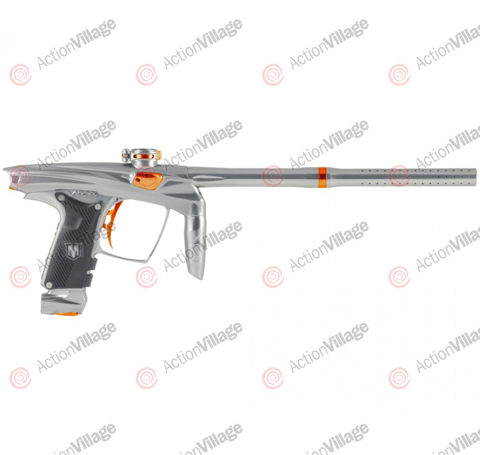 Machine Vapor Paintball Gun - Grey w/ Orange Accents
