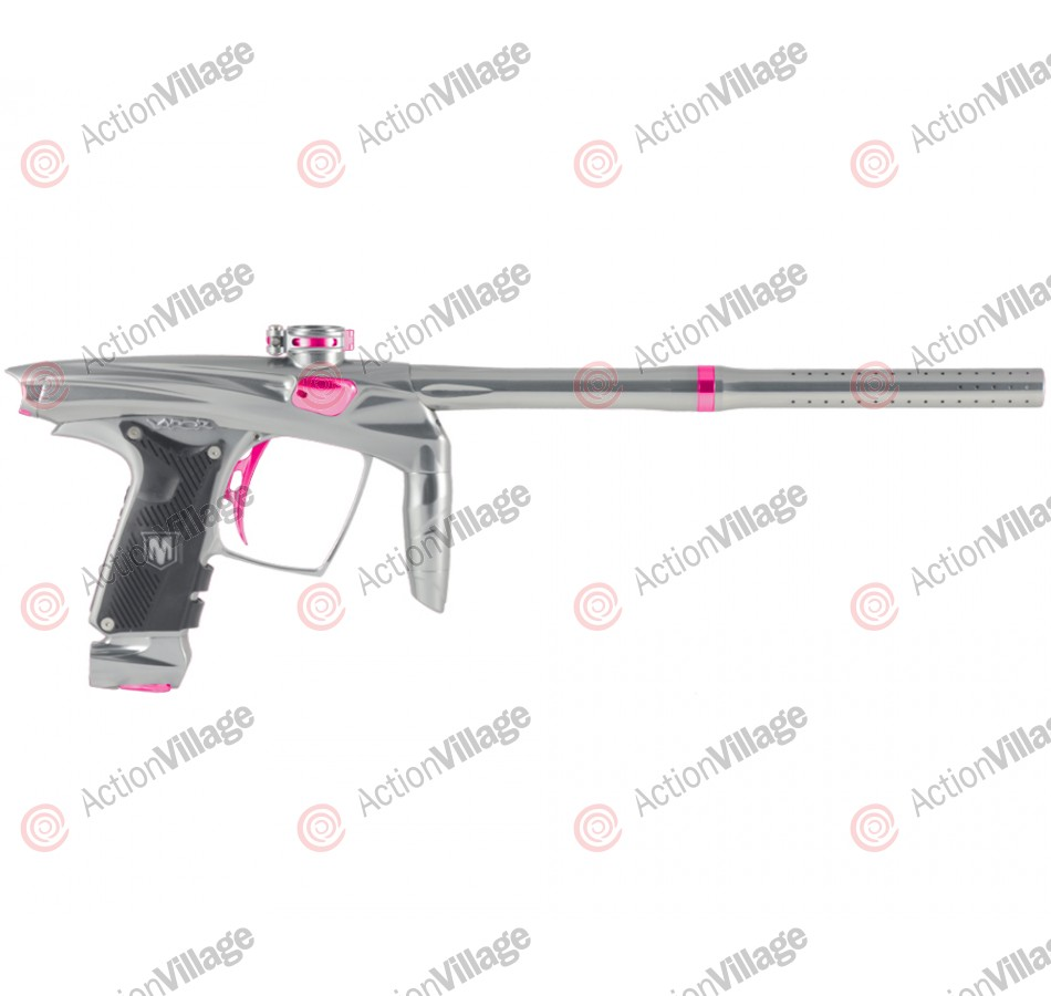 Machine Vapor Paintball Gun - Grey w/ Pink Accents