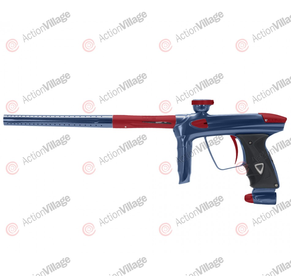 DLX Luxe 2.0 Paintball Gun - Gun Metal/Dust Red