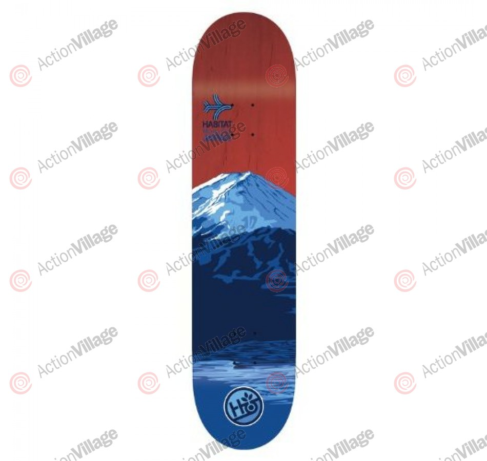 Habitat Airway Japan - Blue - 7.875 - Skateboard Deck