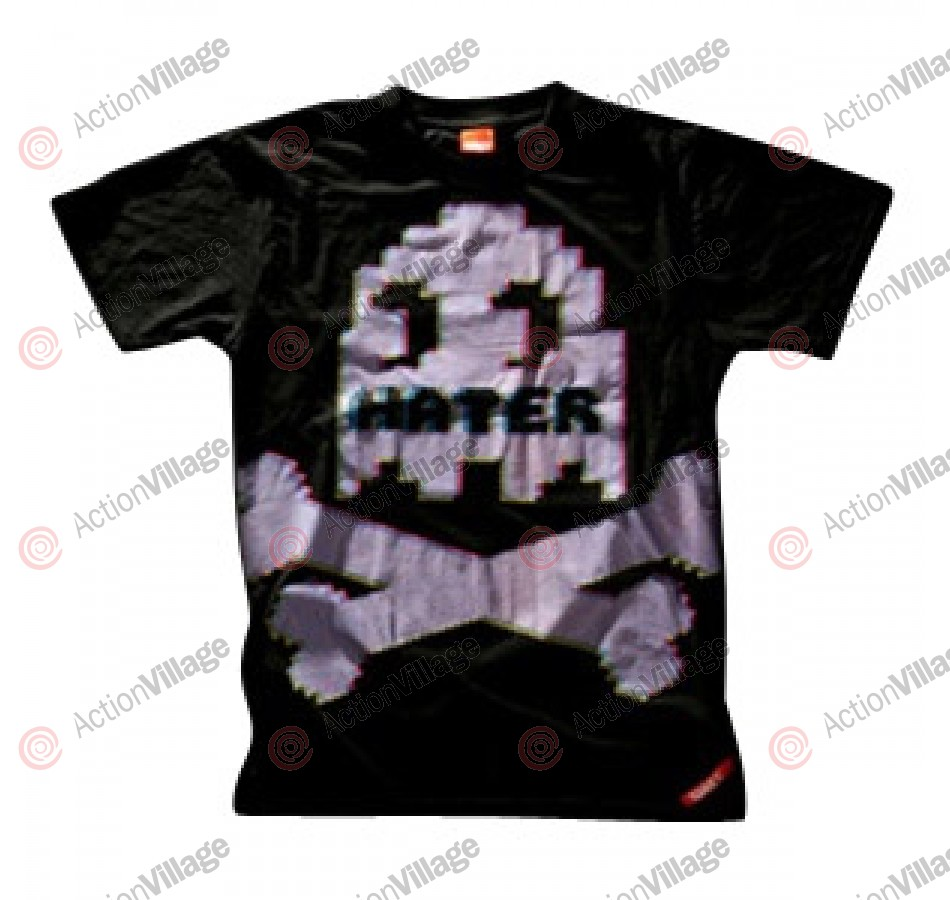 Hater 09 Paintball T-Shirt - Creeper Retro - Black