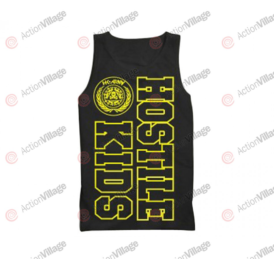 HK Army Hostile Kids Paintball Tank Top - Black