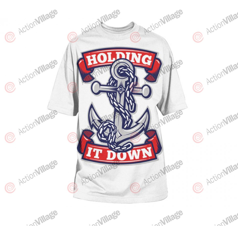 HK Army Anchor Paintball T-Shirt - White/Red