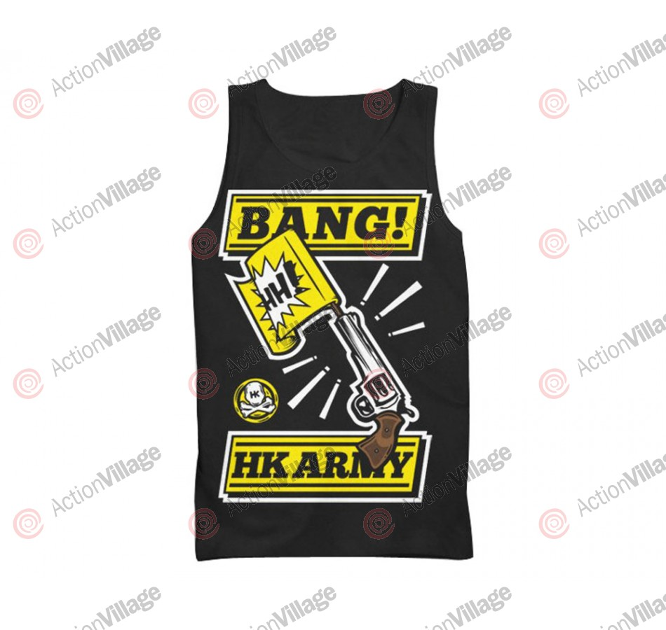 HK Army Bang Paintball Tank Top - Black