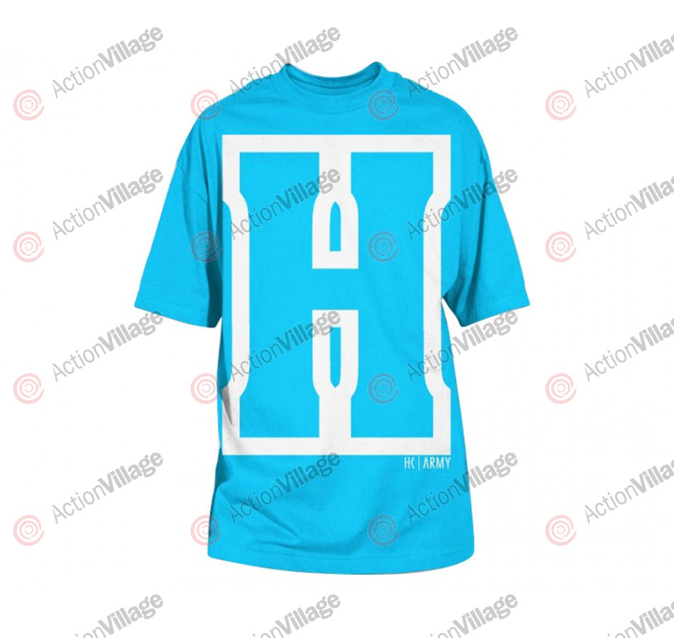 HK Army H Block Paintball T-Shirt - Turquoise