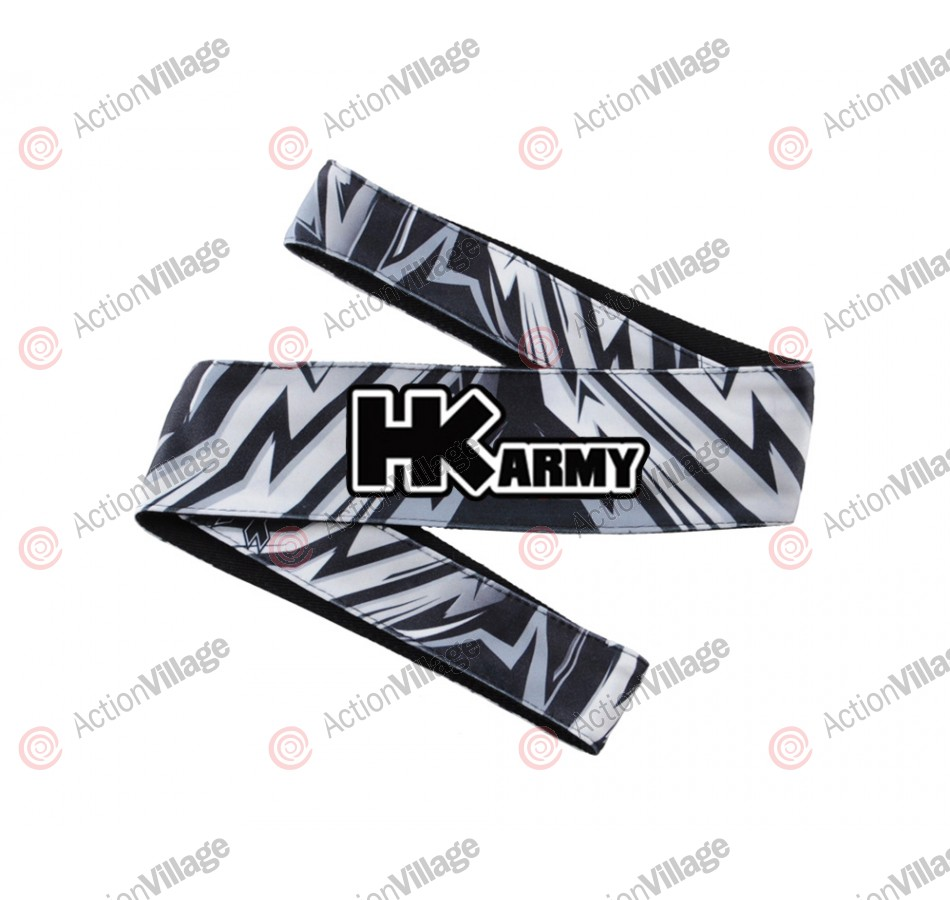 HK Army Headband - HK Tazzed Grey