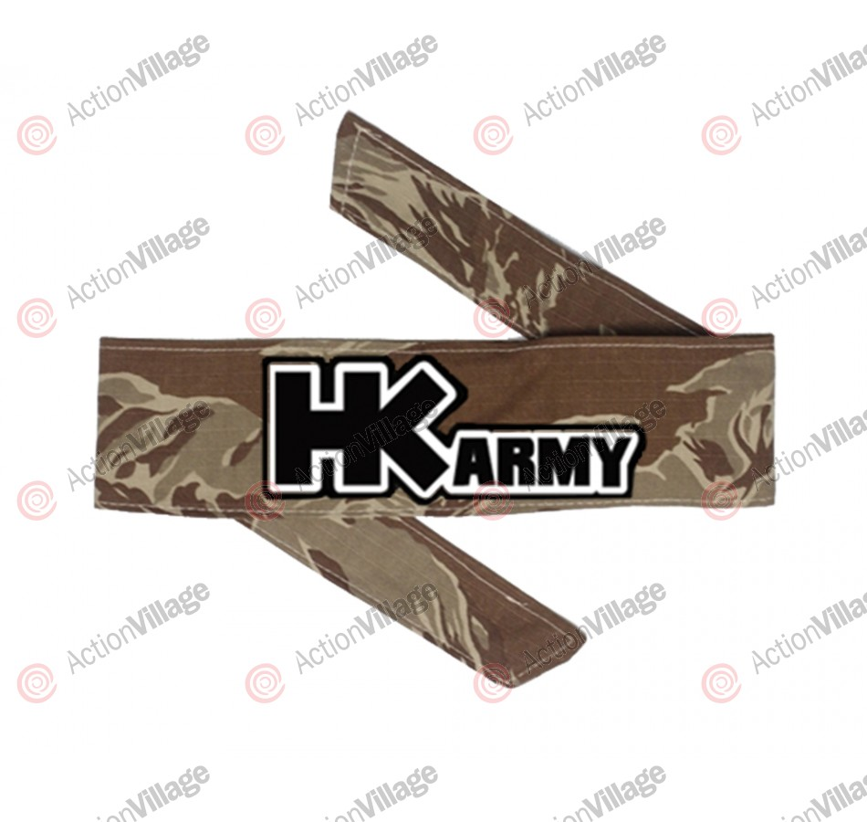 HK Army Headband - HK Tiger Brown