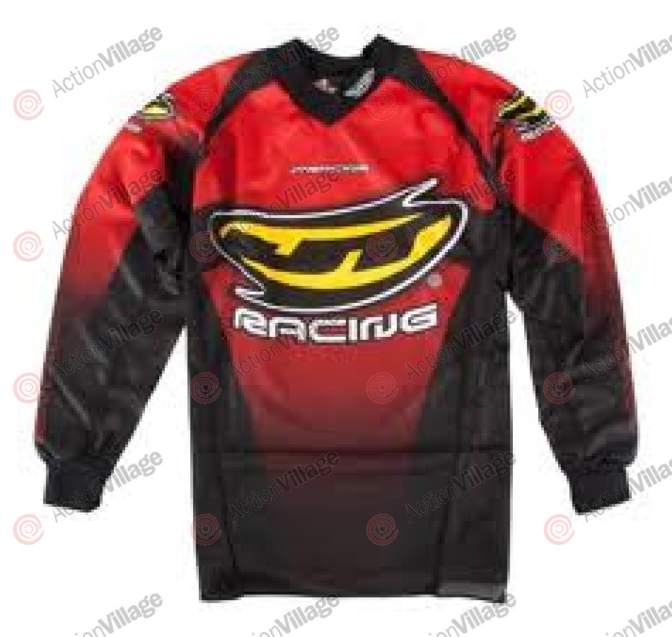 JT Racing Paintball Jersey - Black/Red