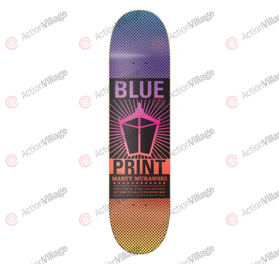Blueprint Skateboards Marty Murawski Pachinko Fade - 7.875 - Skateboard Deck
