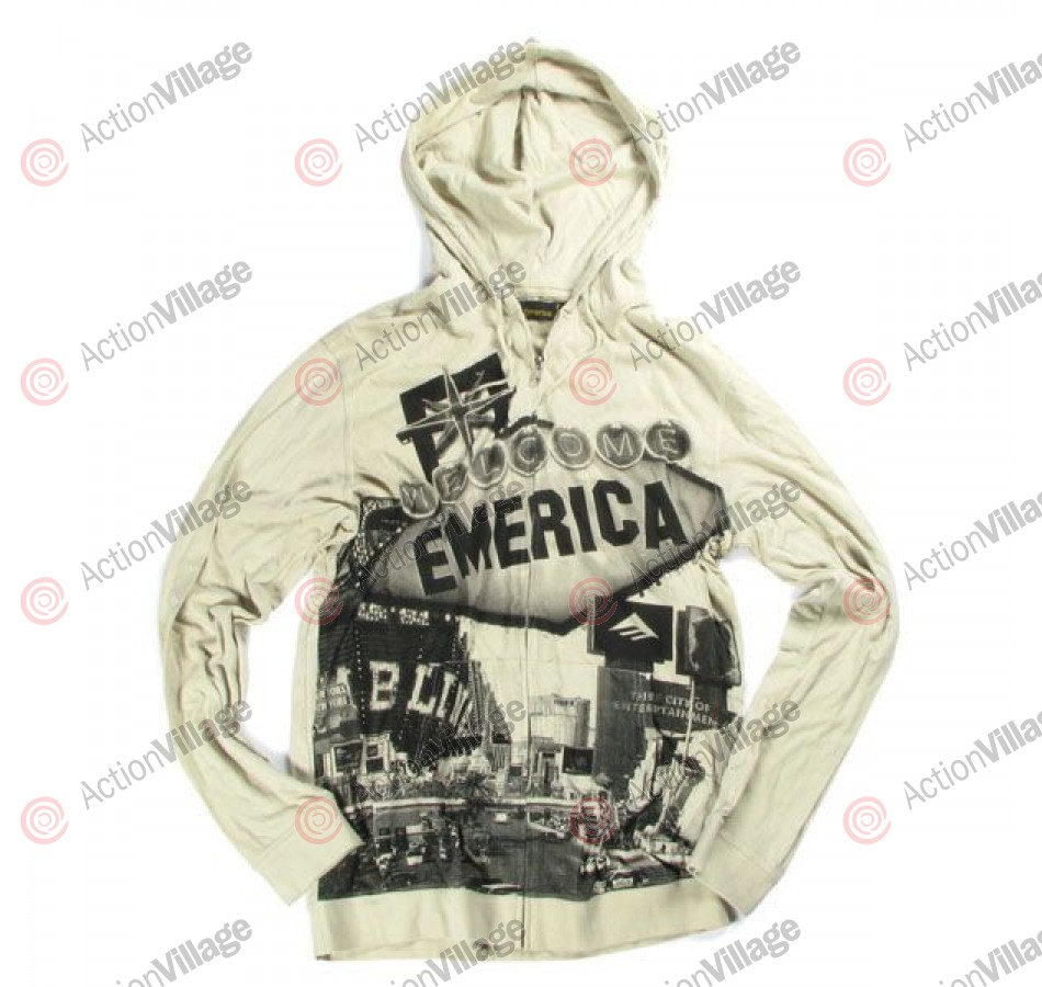 Emerica Vegas - Dirty White - Men's Sweatshirt - Small
