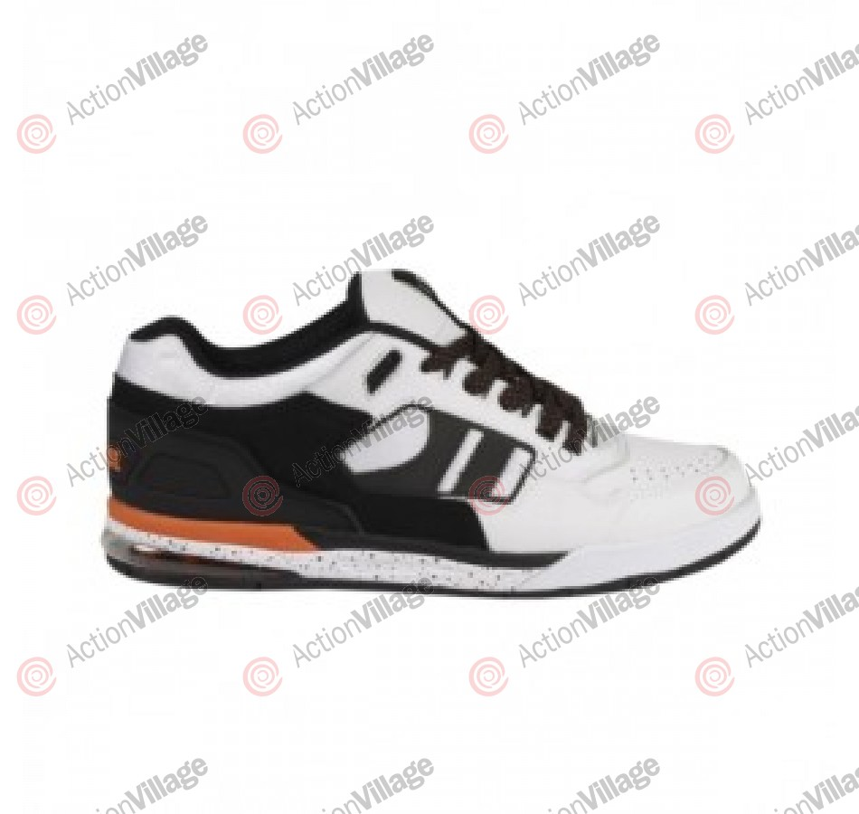 Globe Viper - White/Black/Orange - Mens Skate Shoes
