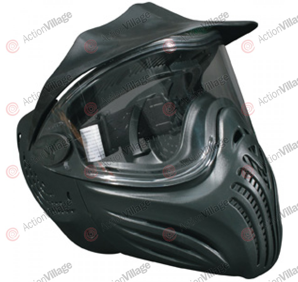 Invert Helix Paintball Mask Single Lens - Black
