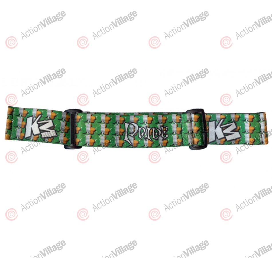KM Paintball Goggle Strap - 09 Irish Flag