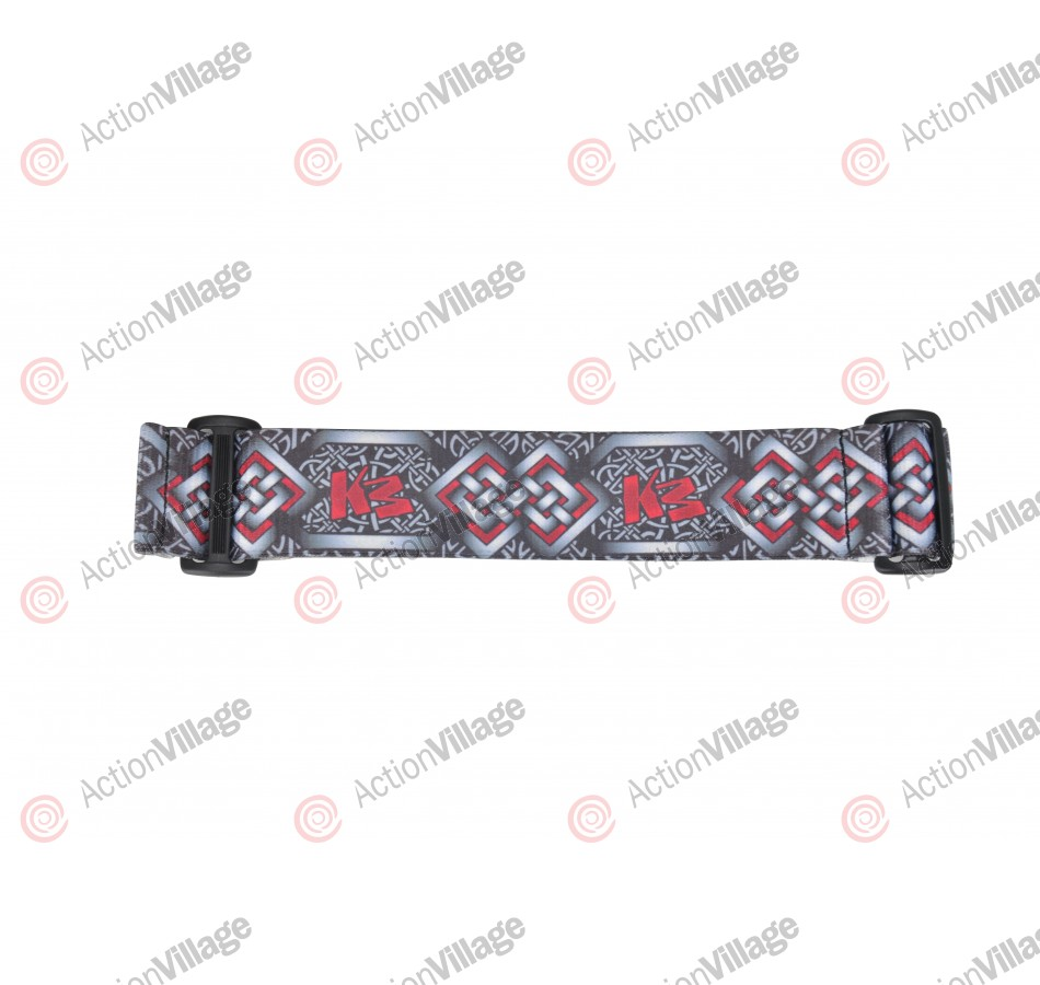 KM Paintball Goggle Strap - 09 Iron Weave