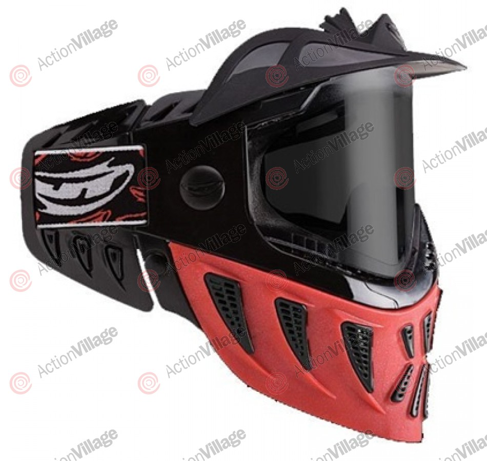 JT Reaper Single Paintball Goggles - Red
