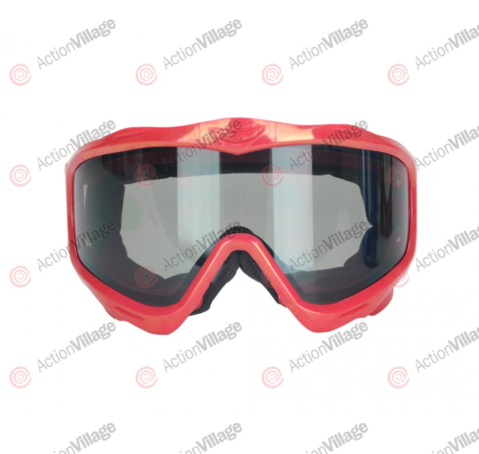 Jt EPS Goggle Mask Frame w/ Smoke Lens - Red