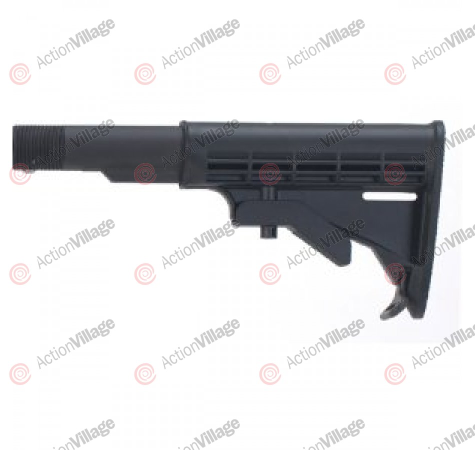 JT Tac-5 Recon Tactical Adjustable Stock - Black