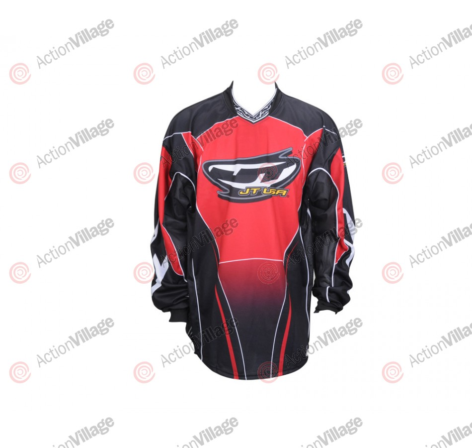 JT 2006 06 Pro Series Paintball Jersey - Red