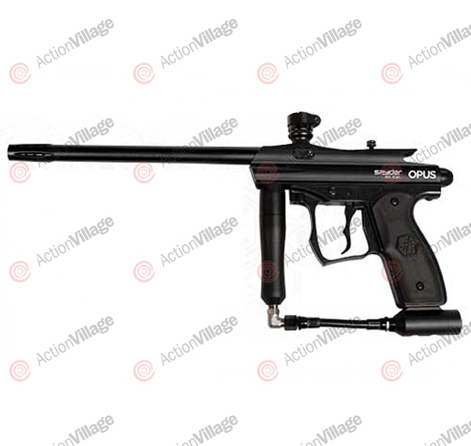 Kingman Spyder Opus A .50 Caliber Paintball Gun - Diamond Black