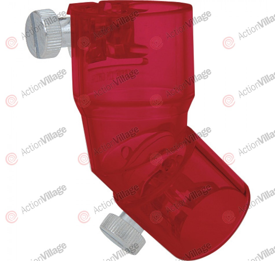 Kingman Spyder 45 Degree Elbow - Red