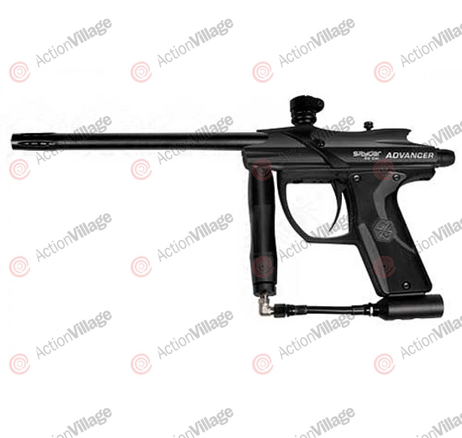 Kingman Spyder Advancer .50 Caliber Paintball Gun - Diamond Black