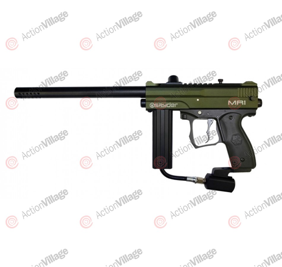 Kingman Spyder MR1 Paintball Gun - Olive
