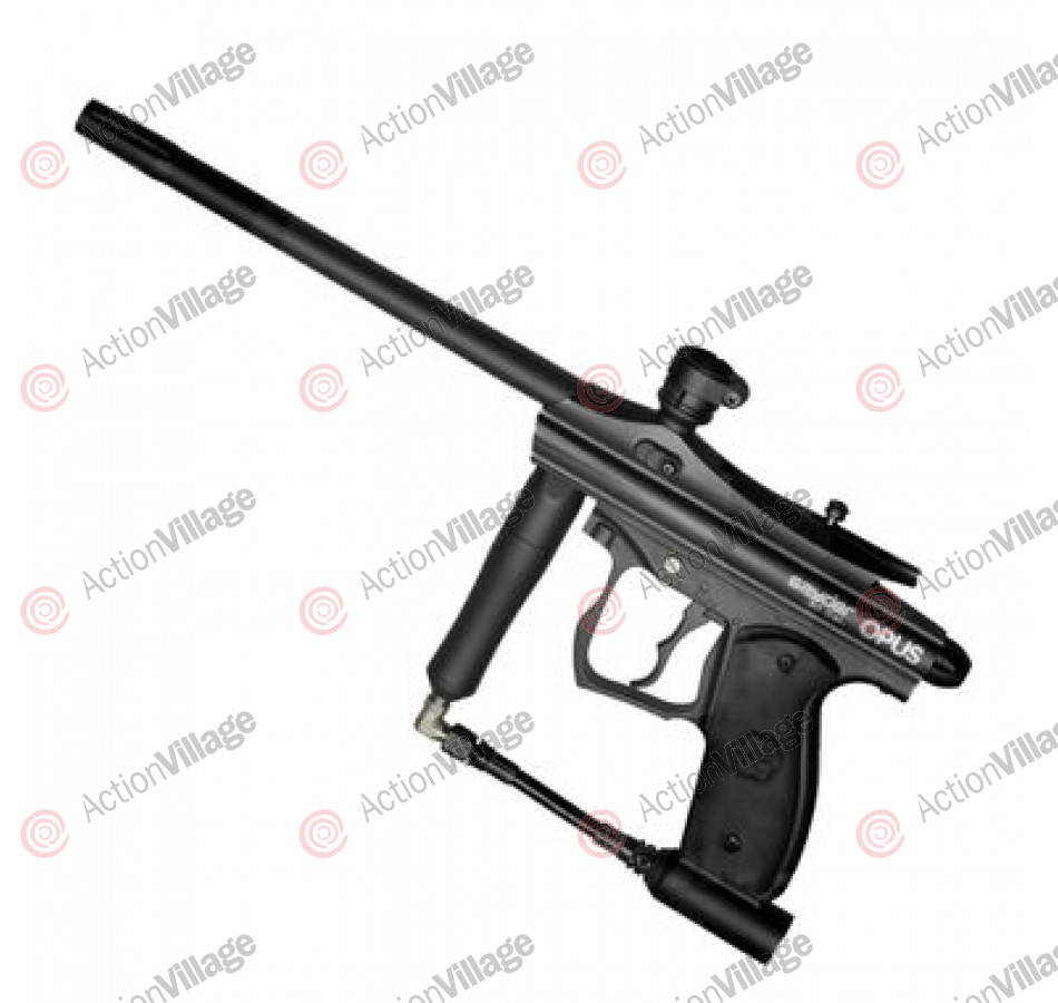 Kingman Spyder Opus .50 Caliber Paintball Gun - Diamond Black