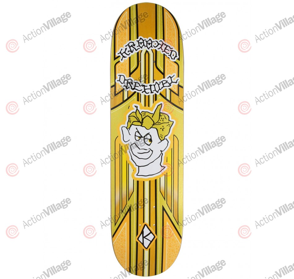 Krooked Drehobl Magestiks - Yellow - 8.38 - Skateboard Deck