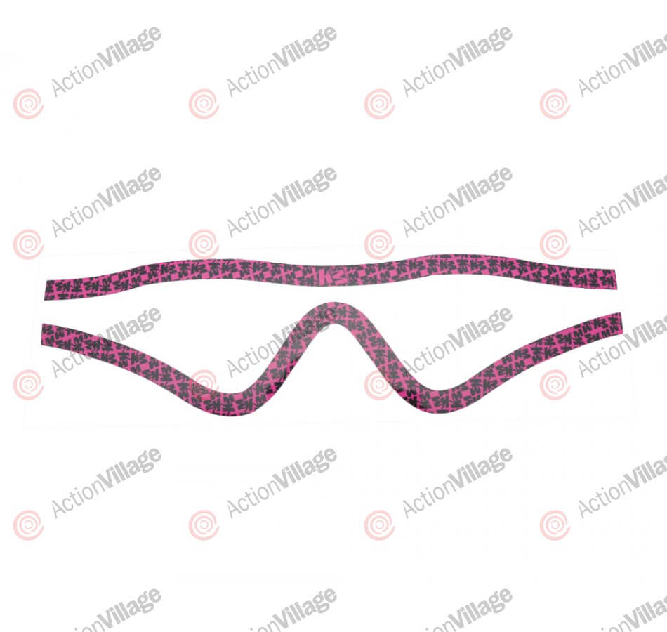 KM Paintball Mask Wraps - Profit Lens - All Over Pink