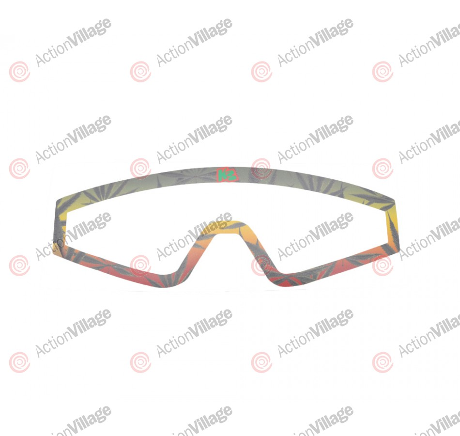 KM Paintball Mask Wraps - Spectra Lens - 420