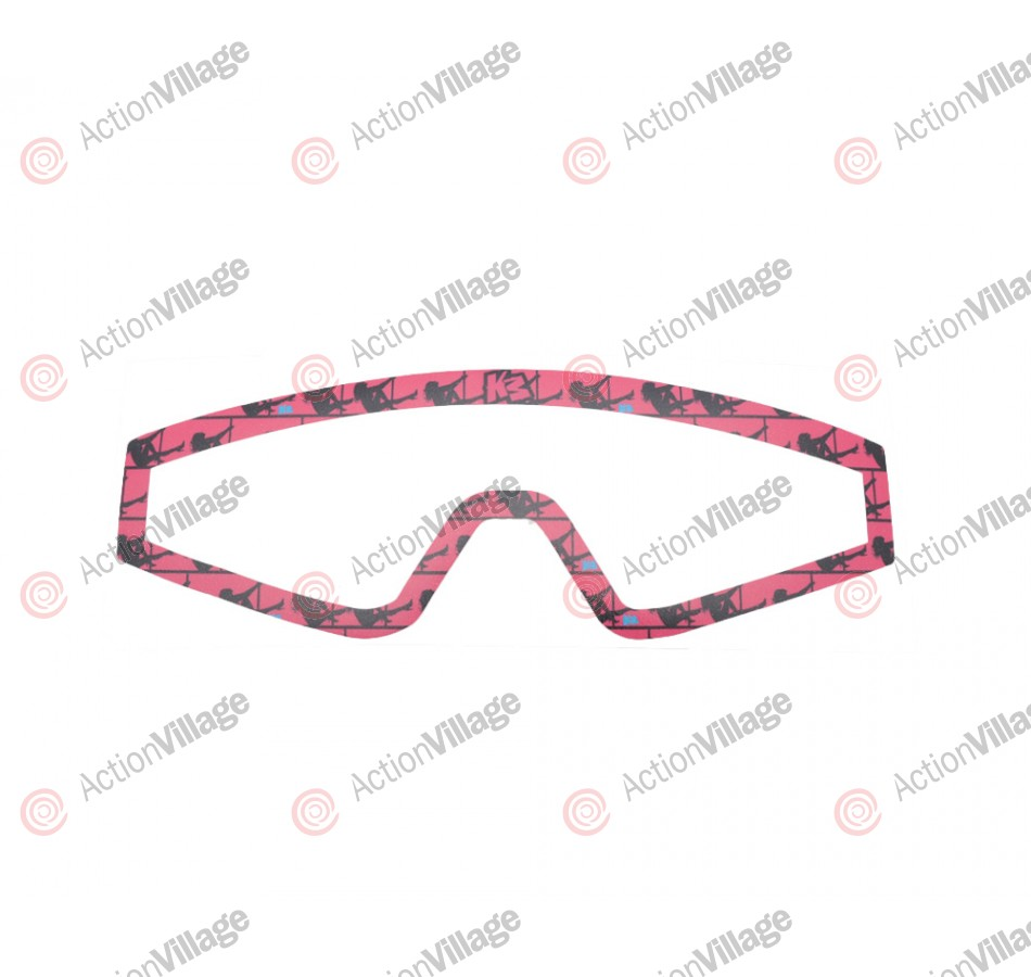 KM Paintball Mask Wraps - Spectra Lens - Stripper