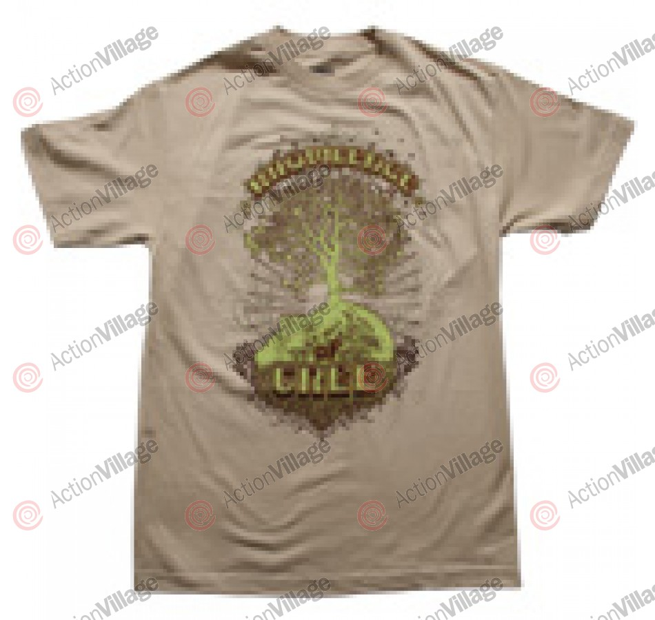 Micreation Knowledge Sand - Mens - T-Shirt - X Large