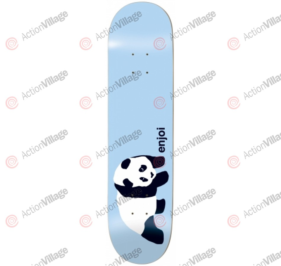 Enjoi Original Panda - Light Blue - 8.38 - Skateboard Deck