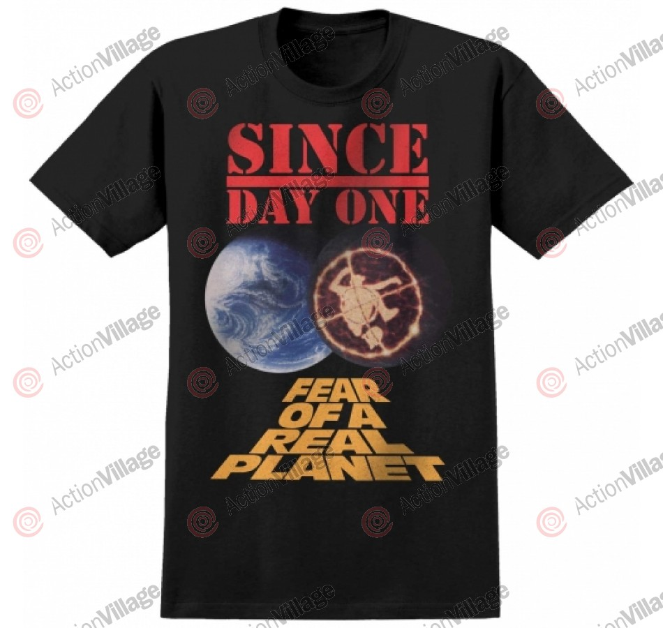 Real S/S Ishod Planet Premium - Black - T-Shirt