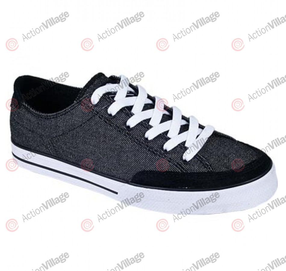 Circa Lopez 50 - Men's Shoes Black Denim / White