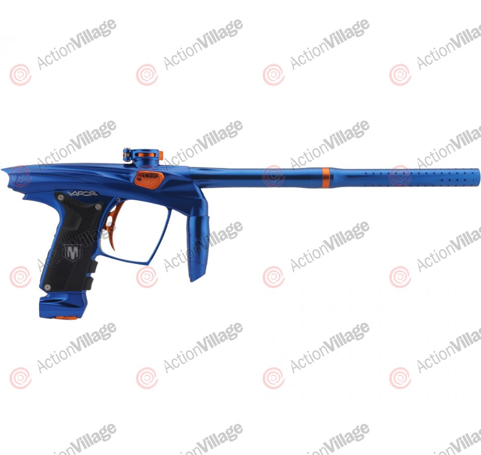 Machine Vapor Paintball Gun - Blue w/ Orange Accents