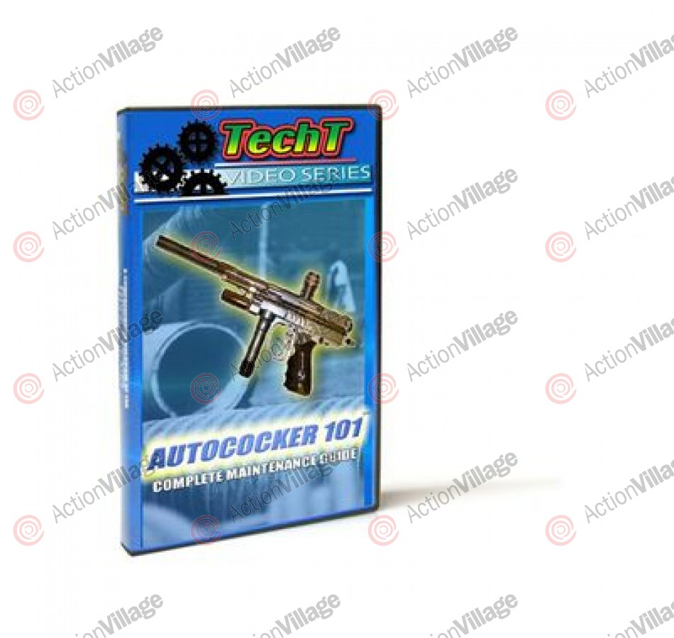 TechT Complete Maintenance Paintball DVD - Autocockers 101