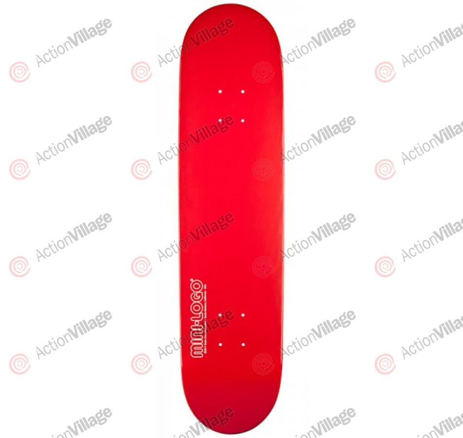 Mini Logo - Red - 8.5 - Skateboard Deck