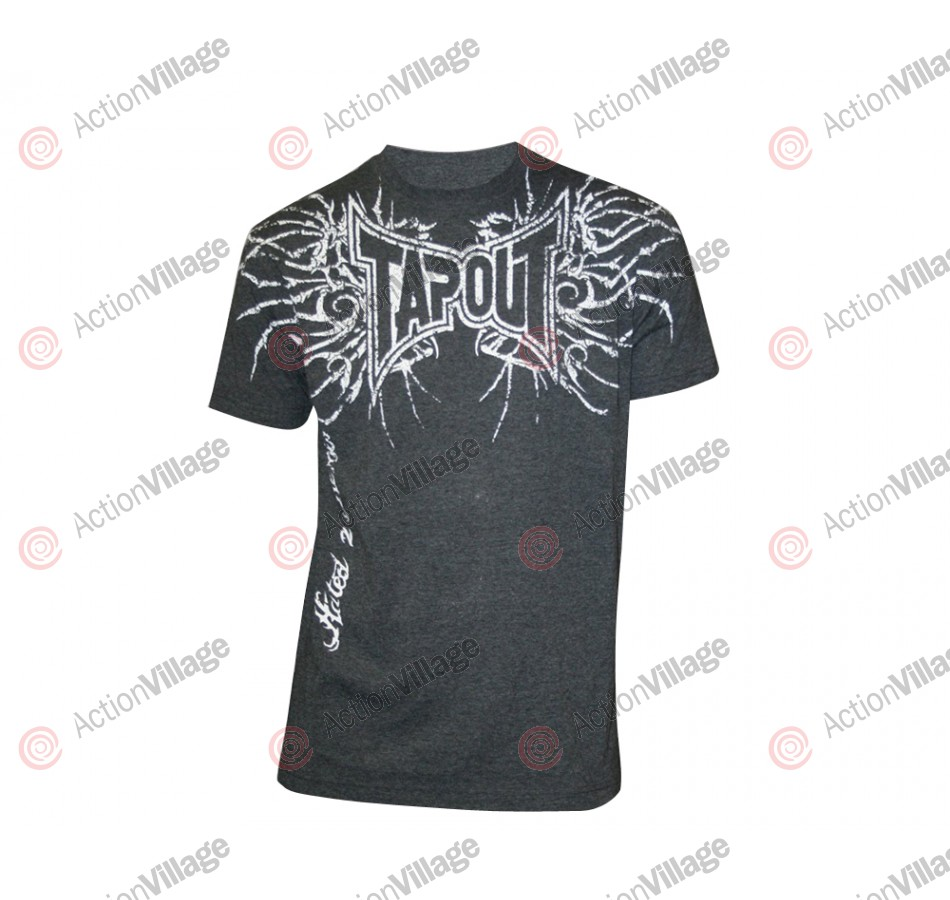 Tapout T-Shirt Bones - Heather Charcoal