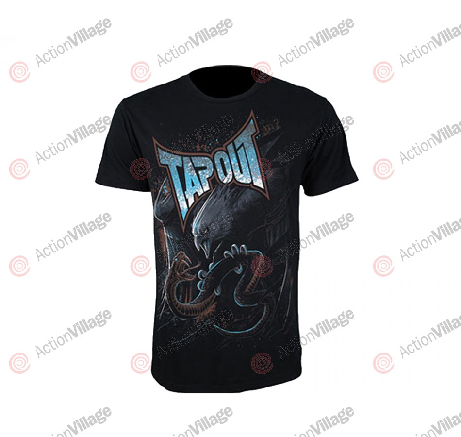 Tapout T-Shirt Ryan Bader Walkout - Black
