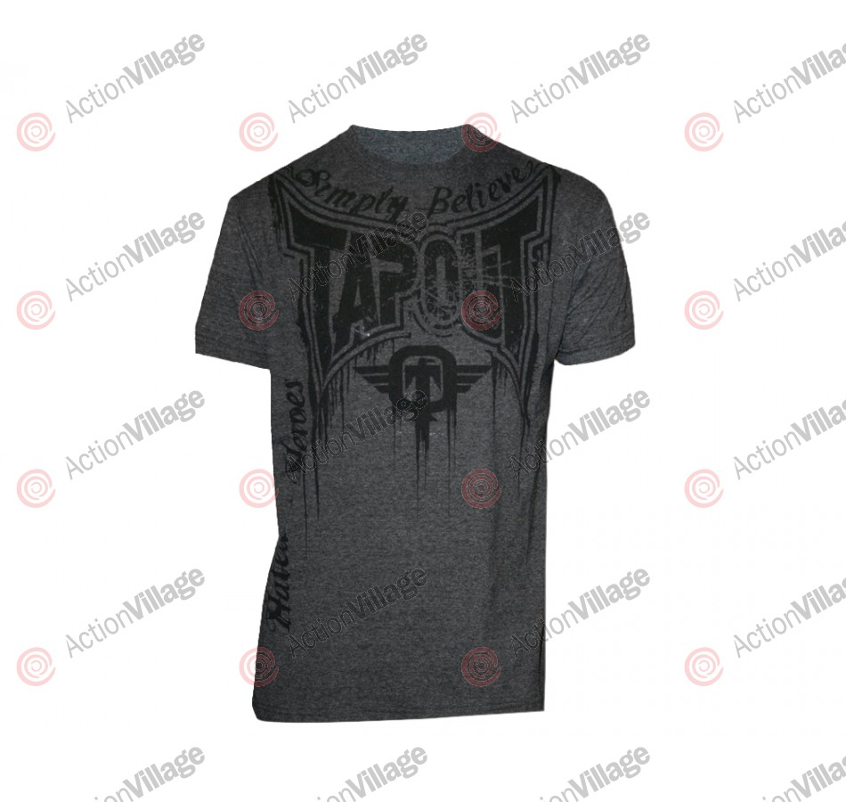 Tapout T-Shirt Train or Die - Heather Charcoal