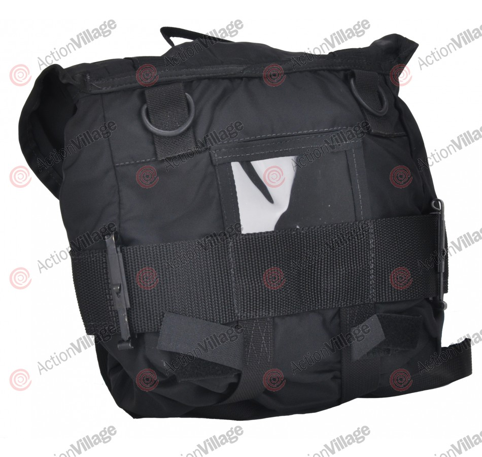 Nylon Butt Pack Bag - Black