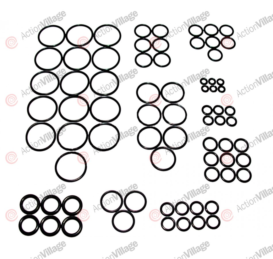 ANS Complete O-Ring Kit 3x Rebuild (Bag) - DM4/5/C/6/7